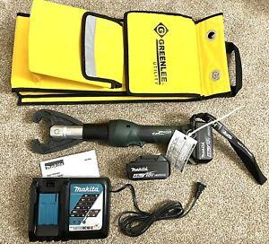 Greenlee Gator EK425LXD11 Hydraulic 6-Ton 18v Crimping Tool w/ CJK Die Groove