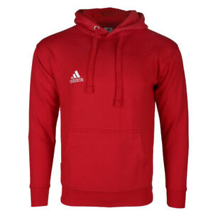 Adidas Men's Essentials Logo Graphic Pouch Pocket Pullover Hoodie