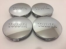 4X New Toyota Wheel Center Caps 07-12 Tundra 08-12 Sequoia 05-12 Tacoma Chrome