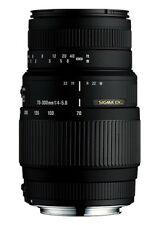 Sigma 70-300mm f/4-5.6 DG Macro Telephoto Lens for Canon (Sigma 4Y USA Warranty)