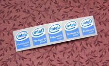 Lot of 20 Intel Pentium M Inside Stickers 16 x 20mm Case Badges USA Seller