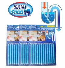 Wholesale Sani Sticks Keep Drain and Pipes Clear Deodorizer Odor as Seen TV 24 Pack Lavender