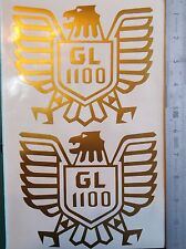 2 x Honda Goldwing 1100 decals/stickers