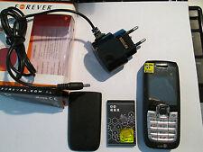 Nokia 2626 RH 86 silber schwarz Auto GB Chi Simfrei Lader Ohrstöpsel  gebr. 2610