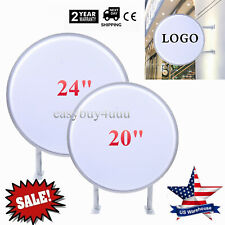 24 Two Sided Led Projecting Light Box Illuminated Outdoor Shop Sign Waterproof