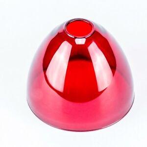 Glass Glasschirm Lamp Umbrella Replacement Red Ø 29mm Lampshade