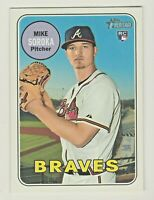 2018 Topps Heritage High Number #657 MIKE SOROKA RC Rookie Braves QTY AVAILABLE