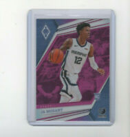 2019/20 Panini Phoenix Pink Prizm Ja Morant Parallel Rookie Card! HOT ROY! RC