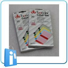 """Boeder Etiquetas para 💾 disquetes 3.5"""" 3½ - 60 unidades Varios colores Vintage"""