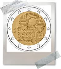 2 EURO *** Slovaquie 2020 Slowakije *** 20 ans dans l'OCDE *** 20 jaar OESO !!!