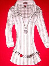 H&M BLUSE TUNIKA LEINENBLUSE HIPPIE ROMANTIK BoHo BLOGGER 38 S M Wie NEU TOP