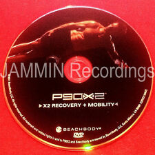 P90X2 - X2 RECOVERY + MOBILITY - DVD - BRAND NEW - P90X