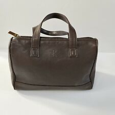 Calvin Klein Little Brown Leather Bag
