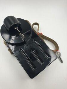 antike Taschenlampe , NIFE Wehrmacht , 20 cm komplett restauriert , 2.WK