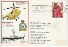 1972 RAF Commemorative cover - Disbandment of RAF NEWHAVEN - with insert