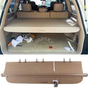 Retractable Cargo Cover Rear Trunk Security Shade For Toyota Land Cruiser 08-20