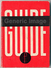 1950's Agfa Focal Guide Book Silette, Super & L More Instruction Manuals Listed