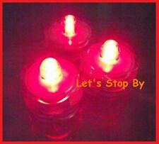 48 LED Red SUBMERSIBLE Waterproof Wedding Tea Light