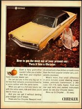1965 Vintage ad for CHRYSLER 300/4-door Hardtop (020113)
