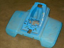 yamaha champ yfm100 100 badger 80  rear back blue fender fenders 85 86 87 88