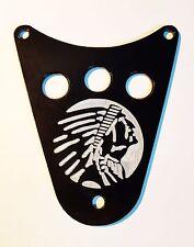 Indian Head Theme Dash Plaque Cover- KAWASAKI  VN1500  VULCAN CLASSIC & DRIFTER