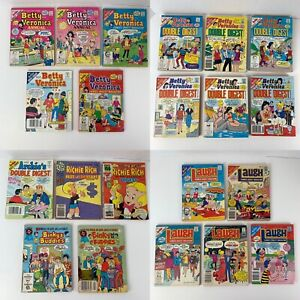 Lot Of 21 VTG Archie, Betty & Veronica, Richie Rich Comic Books (and More)