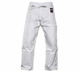 New Fuji Sports All Around Mens Brazilian Jiu Jitsu Jiu-Jitsu BJJ White Gi Pants