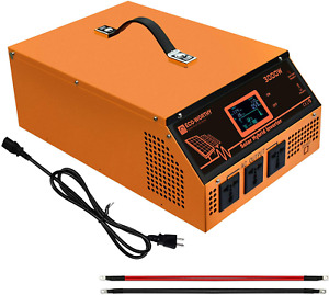 ECO-WORTHY All-In-One Solar Charger Inverter Built in 3000W 24V Pure Sine Wave P