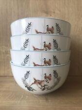Disney Bambi Cereal Bowls Set Of 4 Free UK P+P