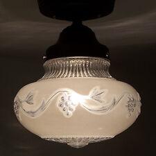 568 Vintage  aRT Deco Ceiling Light Lamp Fixture  bath hall kitchen porch