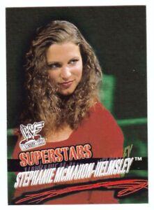 Stephanie McMahon-Helmsley 2001 Fleer WWF WrestleMania Card #24
