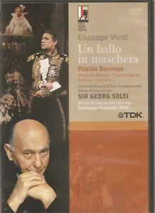 Un Ballo In Maschera - Verdi - Sir Georg Solti (DVD, 2005)