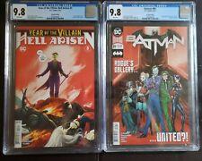 Batman #89 and Year of the Villain: Hell Arisen #3  CGC 9.8 Punchline 1st