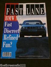 FAST LANE - BMW M5 - MAY 1990