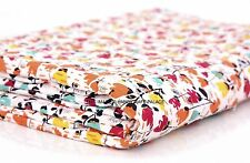 Indian Handmade Quilt Floral Print Kantha Bedspread Throw Cotton Blanket Gudri