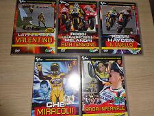 5 DVD OFFICIAL UFFICIALI MOTOMONDIALE MOTOGP MOTO GP 2006 VALENTINO ROSSI VALE