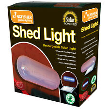 Solar Powered 5 Bulb LED Rechargeable Garden Shed Light