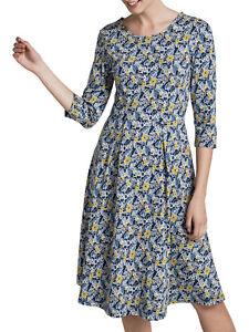 New X Seasalt The Mouls II stretch Dress Vintage Floral Night X SEASALT (£57.95)