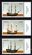 Malta 2017 Maritime Series V  Sailing Ships Vessels of the Order  Unmounted Mint