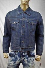 Authentic Ice B by Iceberg Men's denim-cotton jacket US L IT 52