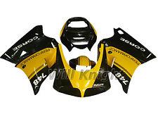 Body Fairing Kit for Ducati 748 916 996 998 Year 1996-2002 Yellow Black