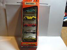 Matchbox 5 Pack Cars, Cars, Cars w/Mustang's, Ferrari, VW Bug, Viper