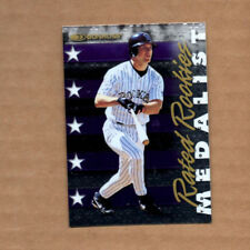 1998 Donruss Rated Rookies Medalists #18 Todd Helton Colorado Rockies