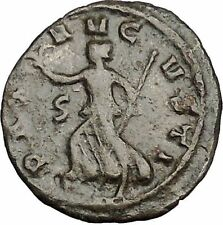Gallienus Possibly Unpublished Ancient Roman Coin Pax Peace Cult   i50711