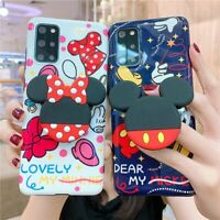 Mickey Mouse Minnie Soft Case for Samsung Galaxy S20 Ultra Note 20 Cartoon Cover