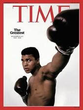TIME Magazine Muhammad Ali The Greatest 1942-2016 NEW
