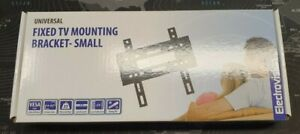 "Universal Fixed TV Mounting Bracket 25mm Profile 14"" to 43"" TV Max 35kg VESA 200"