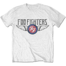 Pistola de rayos Amplificado Foo Fighters Blanco Camiseta
