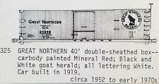 LMH C-D-S CDS 325 GREAT NORTHERN 40' Wood Double Sheathed Boxcar GN Dry Transfer