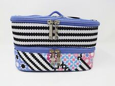 Modella Fashion Forever Double Zip Fully Lined Train Case - New